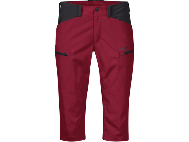 Bergans Utne Pirate Hose Damen red/solid charcoal